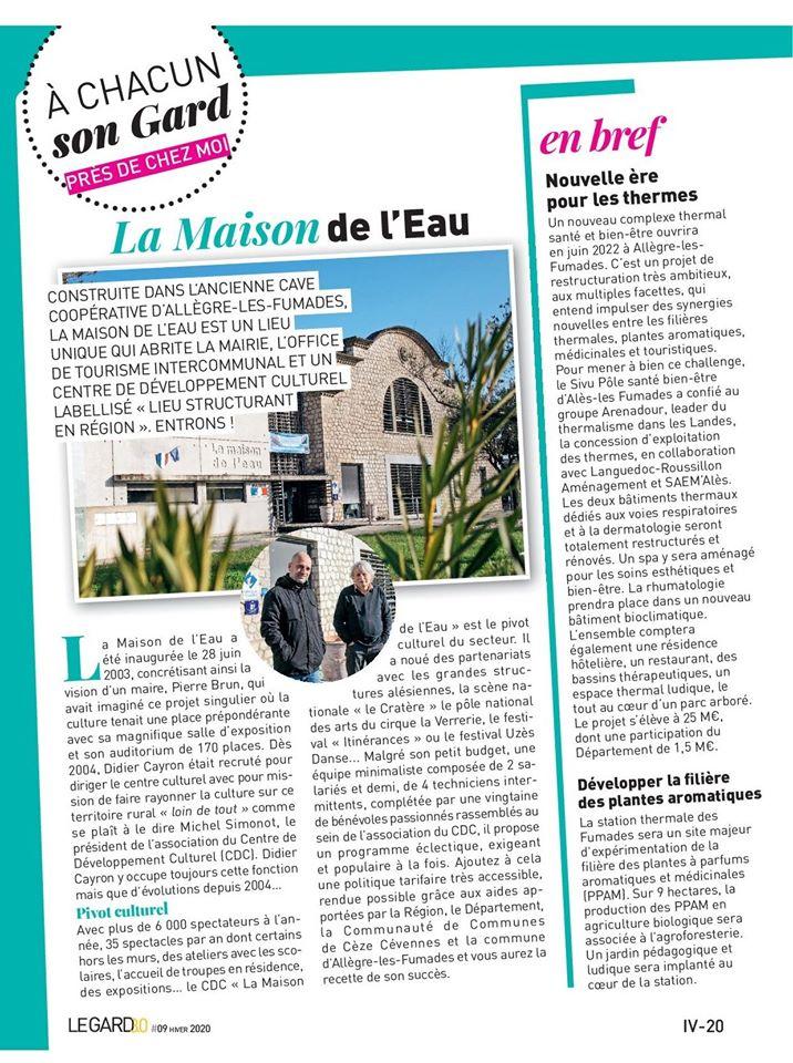 Article Gard 3.0 magazine