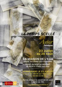"Christian Astor ""Le Temps Scellé"""